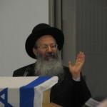 מרן ראש הישיבה הרב אליעזר מלמד נושא דברים יסודיים על דרכה של הישיבה 2