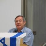 הרב זאב סולטנוביץ' נושא דברים